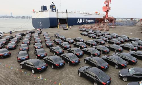 【厦门日报】现代码头圆满完成金砖会晤礼宾车接卸重任