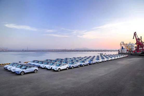 吉利新能源汽车集结现代码头,首次扬帆出海